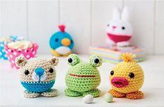 Amigurumi Free Patterns Beginners : Amigurumi crochet animal toys for baby pattern digital download