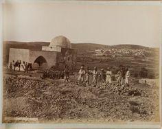 Village of Sanur in the modern-day West Bank, c. 1867-1914. (Maison Bonfils / British Library Endangered Archives Programme)