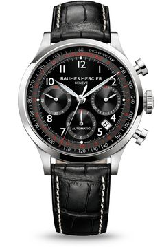 c914692db9 Discover the Capeland 10084 automatic chronograph watch for men, designed  by Baume et Mercier,