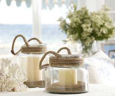 nautical inspired lanterns