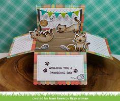 Lawn Fawn Intro: Scalloped Box Card Pop-up | the Lawn Fawn blog | Bloglovin'