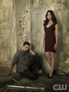 Jay Ryan as Vincent and Kristin Kreuk as Catherine. Photo Credit: Frank Ockenfels 3/The CW. © 2012 The CW Network, LLC. All rights reserved.