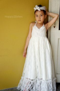 Maxi girls dress.