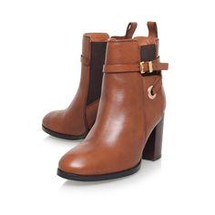Stacey Tan Mid Heel Ankle Boots By Carvela Kurt Geiger   Kurt Geiger