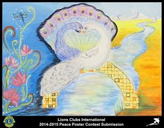 2014-15 Lions Clubs International Peace Poster Competition submission from Skopje Lions Club in Macedonia