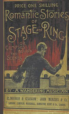 Image taken from  'Romantic stories of Stage and Ring'