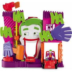 """Fisher-Price Imaginext Joker's Funhouse - Fisher-Price - Toys """"R"""" Us"""