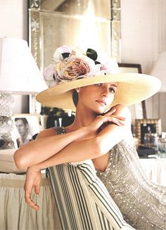 Sigh.........I need this hat....and this kind of photo shoot in it.