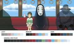 moviesincolor.com - A website featuring stills from films and their corresponding color palettes.
