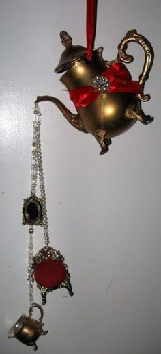 Tea for Two Wall/Door Hanging Wind-chime 1