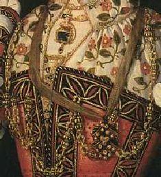 Sapphire & Sage - Renaissance & Medieval Period Portrait Painting Replication Jewelry Pieces Renesanssi, Maalaus, Muotokuvat, Ompelu