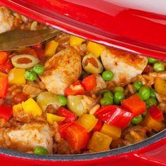 A very yummy recipe for chicken and rice arroz con pollo.navrazvam tehni4eski savsem li4no za dostap na Boiko