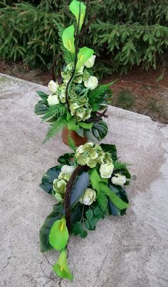 Aga, Flower Bouquet Wedding, Ikebana, Funeral, Floral Arrangements, Flowers, Flower Arrangements, All Saints Day, Flower Arrangement