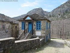 Greece, Cabin, House Styles, Travel, Home Decor, Greece Country, Viajes, Decoration Home, Room Decor