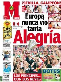 Y el Sevilla se coronó en Eindhoven