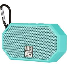 Altec Lansing Mini Waterproof Bluetooth Portable Speaker Green Light - Electronics, Personal Electronics at Academy Sports Green Light Best Home Theater System, Altec Lansing, Cool Bluetooth Speakers, Waterproof Speaker, Bang And Olufsen, Aqua Blue, Cool Things To Buy, Abs, Mini