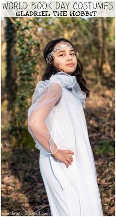 World Book Day Costumes and Fancy Dress Ideas for Kids. Gladriel from The Hobbit. #Gladriel #TheHobbit #worldbookday #Readwithkids #Literacy #dressup #costumes #bookcostumes #Worldbookdayideas #fancydress