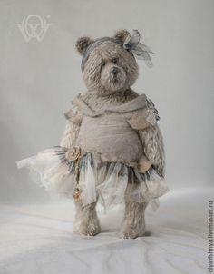 Мишки Тедди ручной работы. Ярмарка Мастеров - ручная работа. Купить Фогги Дэй (Foggy Day) мишка тедди. Handmade.