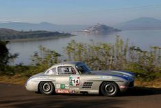 Mercedes-Benz 300SL of Pierre de Thoisy during Carrera Panamericana