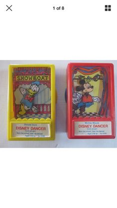 I vaguely remember these