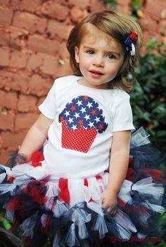 Cupcake 4th of July Set by Loving Lorelei