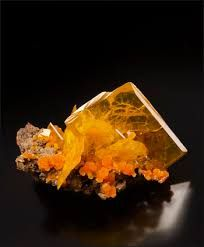 Image result for san francisco mine wulfenite