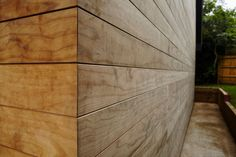 In this local project you can see the luxurious finish of our thermo treated pine cladding from the Thermory® collection!
