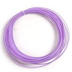 Atoplee 10m ABS 3D Printer Filament 1.75mm For 3D Printer Printing Pen,Purple * Visit the image link more details.