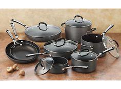 Simply Calphalon Nonstick 14-pc. Cookware Set