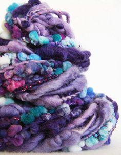 Hand Spun Art Yarn - Nimisha | Flickr - Photo Sharing!