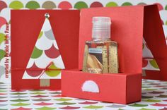 hand sanitizer gift boxes (set of 2) Etsy - DabbleWithDawn