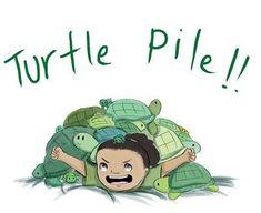 John Laurens' ever growing turtle pile. Daily sketch: 4/6/16 #Johnlaurens…