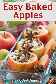 Easy Baked Apples Recipe - 18 Of The BEST EVER Apple Recipes