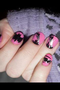 love it. batman nails