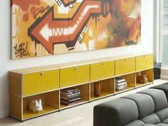 USM HALLER SIDEBOARD FOR LIVING ROOM Storage unit by USM Modular Furniture
