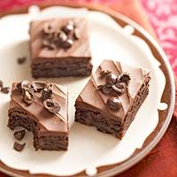 Triple-Chocolate and Espresso Brownies