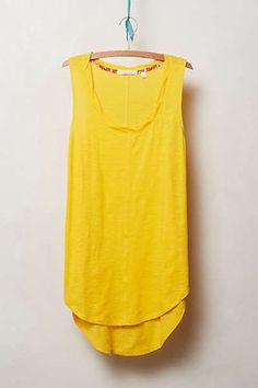a32e55a88bf6 Anthropologie - Seamed Racer Tank Blouse Outfit, My Wish List, Anthropologie,  Anthropology