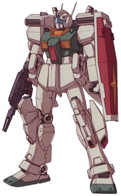 The RGM-86R GM III is a mobile suit which first appeared in Mobile Suit Gundam ZZ and later in the movie Mobile Suit Gundam: Char's Counterattack.