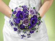 Brautstrauß zur Hochzeit passend ergänzt