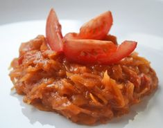 Paradeiskraut Rezept | GuteKueche.at Food Porn, Risotto, Shrimp, Paleo, Brunch, Yummy Food, Vegan, Chicken, Vegetables