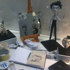 frankenweenie - sketches and armatures Tim Burton Johnny Depp, Stop Motion Movies, About Time Movie, Story Of My Life, Puppets, Popcorn, Character Design, Sketches, Inspire