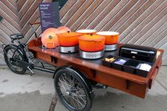 Two of my favorite things - cargo bikes & soup! @Julie Forrest Cross