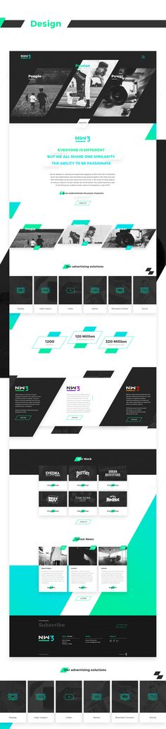 Corporative website for one the best american media company - NW3 Media - Media Advertising Company.