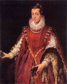 Sofonisba Anguissola - portrait of a young patrician - 1558 - check out the fur!