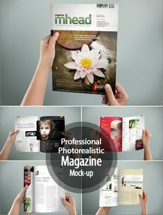 Professional & Photorealistic Magazine Mock-up #premiummockup #presentationmockups #brandingmockup #businesscardsmockup #mockuptemplates #tshirtmockup #flyermockup #tabletmockup