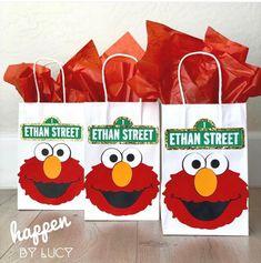 1st Birthday Boy Themes, Monster Birthday Parties, 2nd Birthday, Elmo Birthday Party Ideas, Birthday Gifts, Elmo Party Favors, Party Hats, Elmo Decorations, Elmo World