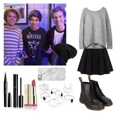 """Meeting Ashton, Calum and Luke after the concert "" by emma-horan-73 on Polyvore featuring mode, Polo Ralph Lauren, Dr. Martens, Free People, Marc Jacobs, Chanel et Uncommon"
