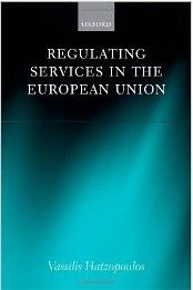 This book looks back on the historical development of services law, discusses the nature of impediments to trade in services in the EU, and explains the basic rules and principles applicable to such trade. It also examines the recent development of alternative regulatory methods, such as networking, the use of common standards, private regulation, self-regulation, open methods of coordination, and administrative cooperation.  Cote: 3-31 HAT