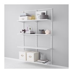 ALGOT Wall upright/shelves IKEA The parts in the ALGOT series can be combined in many different ways and easily adapted to your needs and space.
