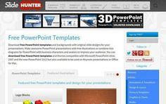 SlideHunter, más de 500 plantillas gratuitas para PowerPoint   NTICs en Educación   Scoop.it
